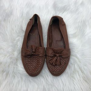 Vintage Cole Haan Leather Loafers Size 8.5